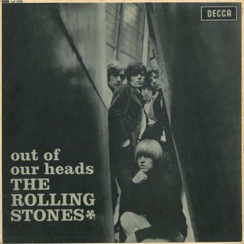 THE ROLLING STONES Out Of Our Heads Vinyl Record LP Decca 1965.